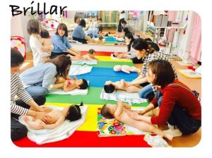 Workshop De Mi Amor × Brillar ベビーマッサージ
